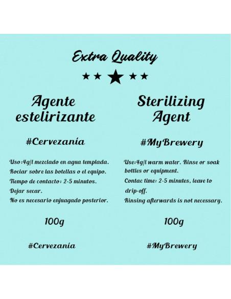Agente esterilizante 100 gramos