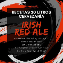 Receta Irish Red Ale