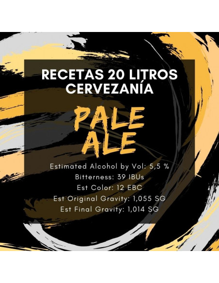 Receta Pale Ale