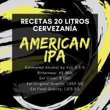 Receta American IPA