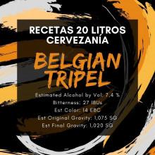 Receta Belgian Tripel