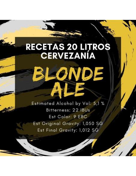 Receta Blonde Ale