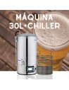 Máquina 30 litros chiller