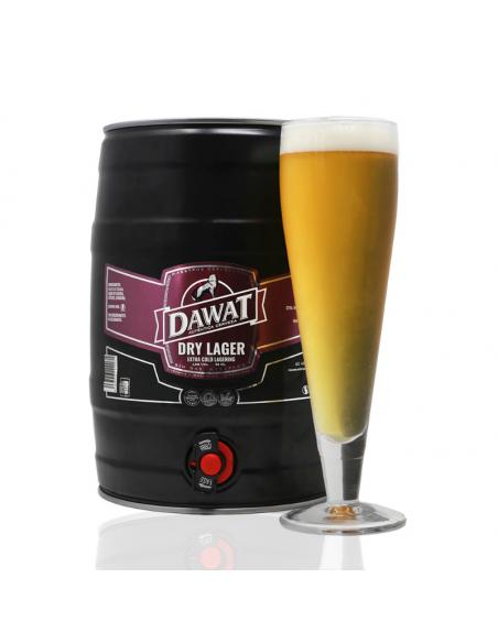 Barril de 5 litros Dawat Dry Lager