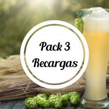 Pack 3 recargas