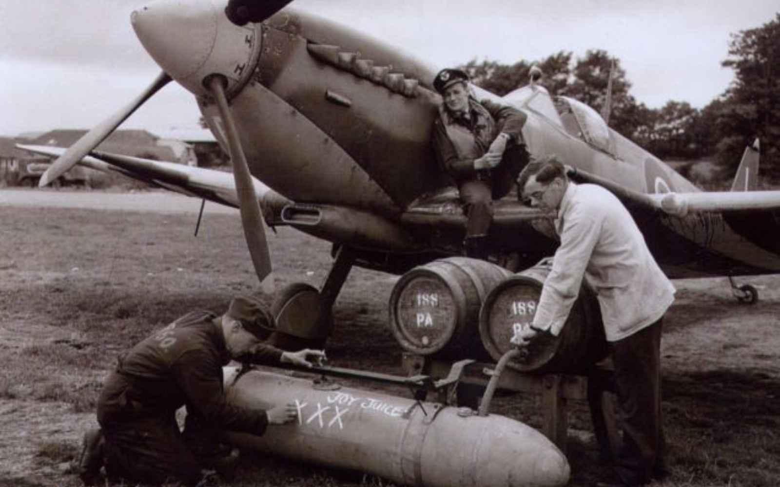 avion cerveza segunda guerra mundial