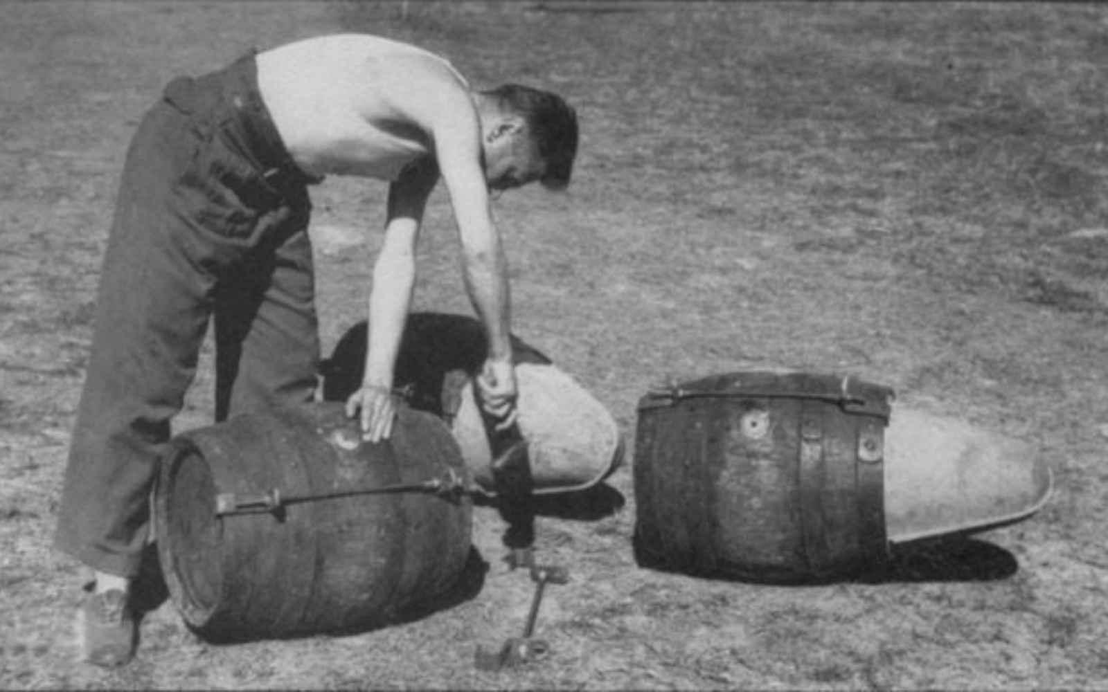 barriles cerveza avión segunda guerra mundial
